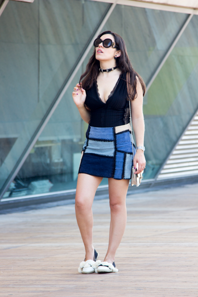 Le Fashionaire Super Power blogger gorgeou style prada baroque trendy zara body oporto cool chocker double bucke 2277 EN 805x1208