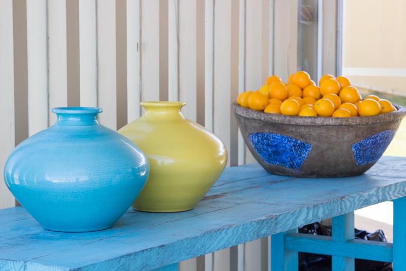 Le Fashionaire LKodak blogger kodak porto amazing dreaming flower—pot blue green orange fruit decoration 4590 EN 805x537