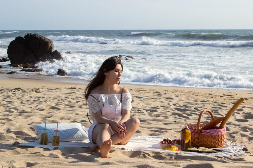Le Fashionaire Beach Picnic blogueira picnic praia bonito inspiracao amor zara jardineira lefties tiger 9343 PT 805x537