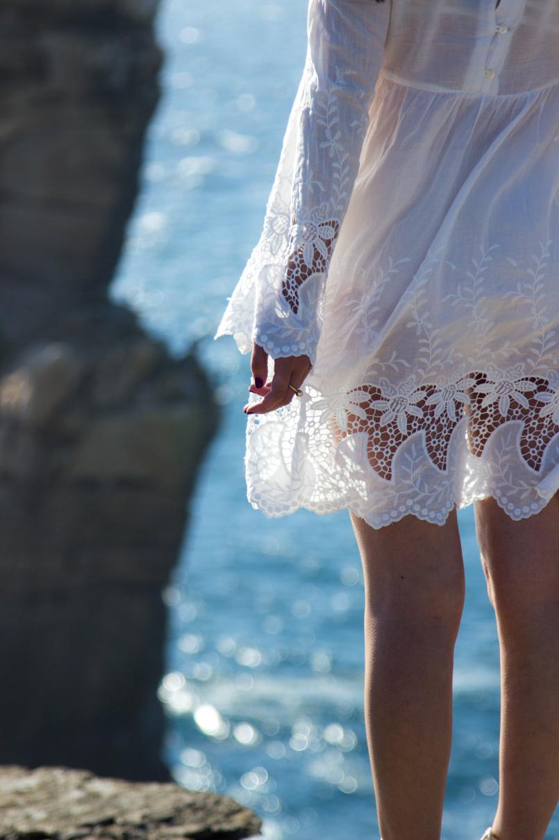 Le Fashionaire A ti, mar cabo carvoeiro mar blogueira bonita mango vestido bordado estilo branco 1545 PT 805x1208