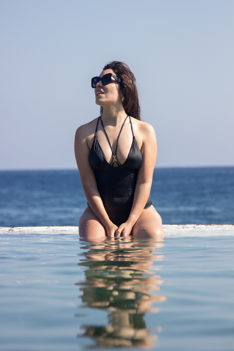 Le Fashionaire Travel Diary: Quinta do Lorde Hotel lefashionaire catarine martins travel diary hotel quinta lorde madeira portugal natural pool luxury hotel celine sunglasses blanca suarez women secret swimsuit chic 2967 EN 805x1208