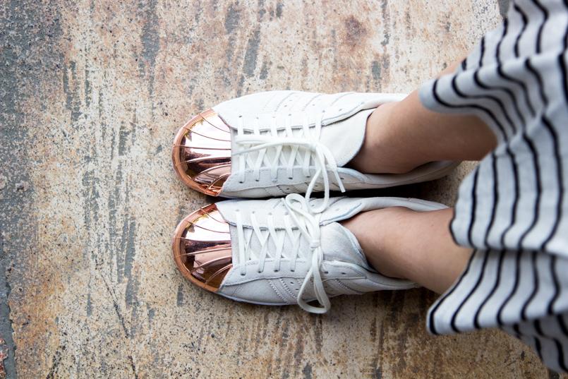 Le Fashionaire Vamos colecionar monumentos? portugal adidas sapatilhas tenis branco sapatos dourada 0114 PT 805x537