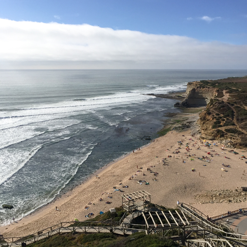 Le Fashionaire Postcards from Ericeira portugal ericeira blogger postcard sea beach surf coast landscape sky sand waves 8037 EN 805x805
