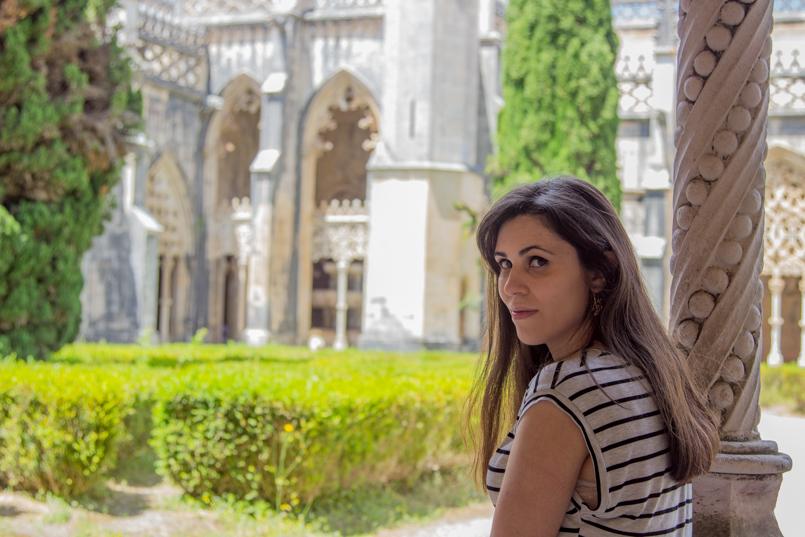 Le Fashionaire Vamos colecionar monumentos? portugal riscas blogueira bonita—jardim mosteiro batalha 0113 PT 805x537