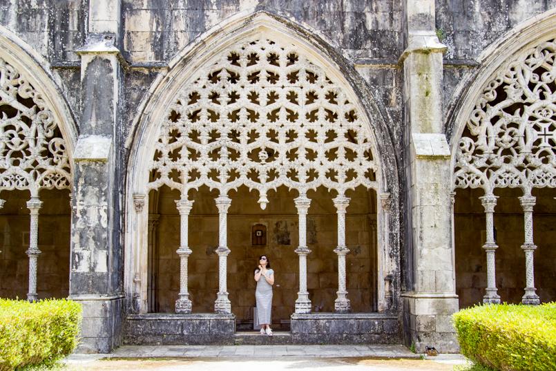 Le Fashionaire Vamos colecionar monumentos? portugal vestido—jardim mosteiro batalha 0149 PT 805x537
