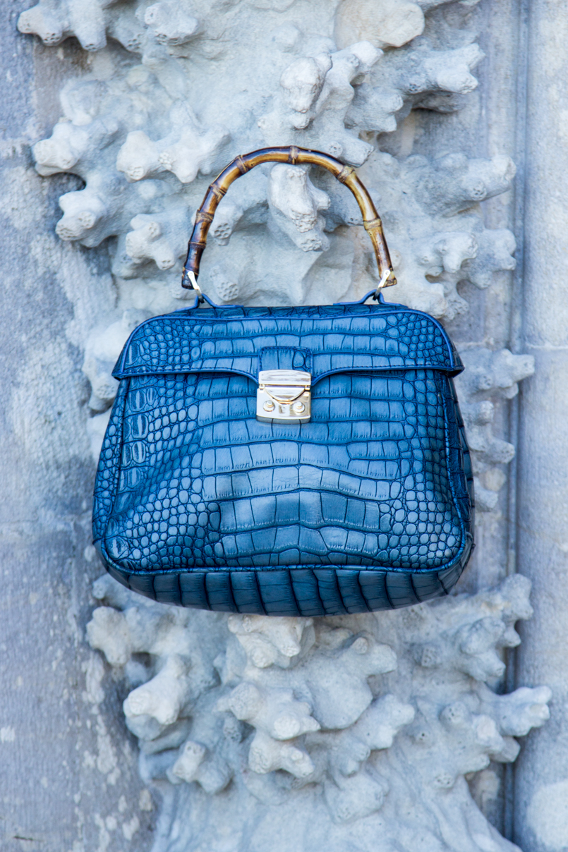 Le Fashionaire Once upon a time... portugal palace pena sintra blogger bag lanidor bamboo crocodile blue img 7833 en 805x1208