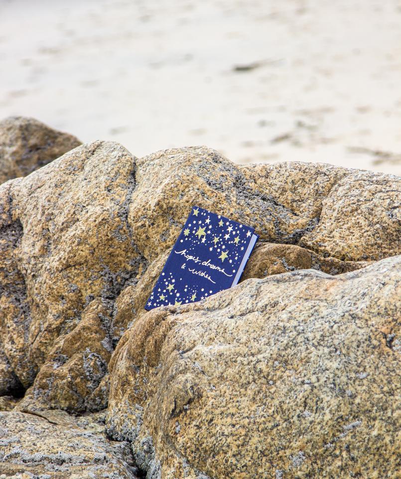 Le Fashionaire Chuva de Estrelas praia mar porto blogueira caderno accessorize estrelas douradas azul bordadas 6250 PT 805x961