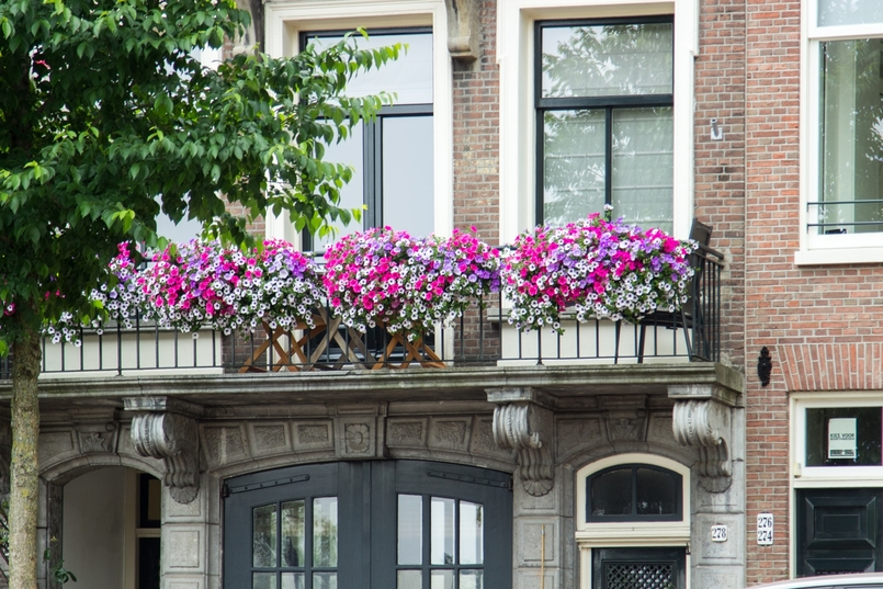 Le Fashionaire Travel Diary: Amsterdam II blogger catarine martins amsterdam canals flowers 0744 EN 805x537