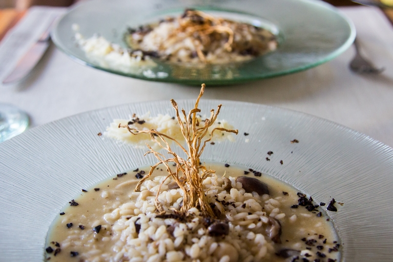 Le Fashionaire Em Carne Viva, Vegan Restaurant blogger catarine martins food mushroom risotto 8825 EN 805x537