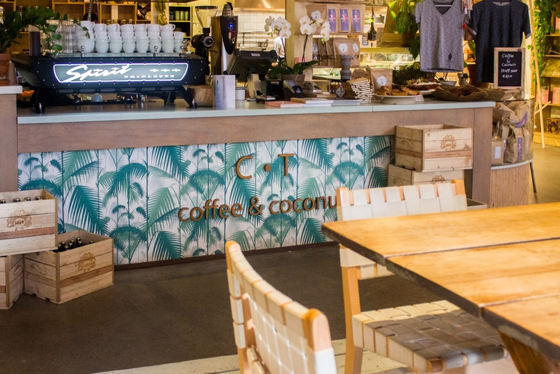 Le Fashionaire Amsterdão: Dicas e sítios giros blogueira catarine martins amesterdao roteiro coofee coconuts ct cafe 1023 PT 805x537