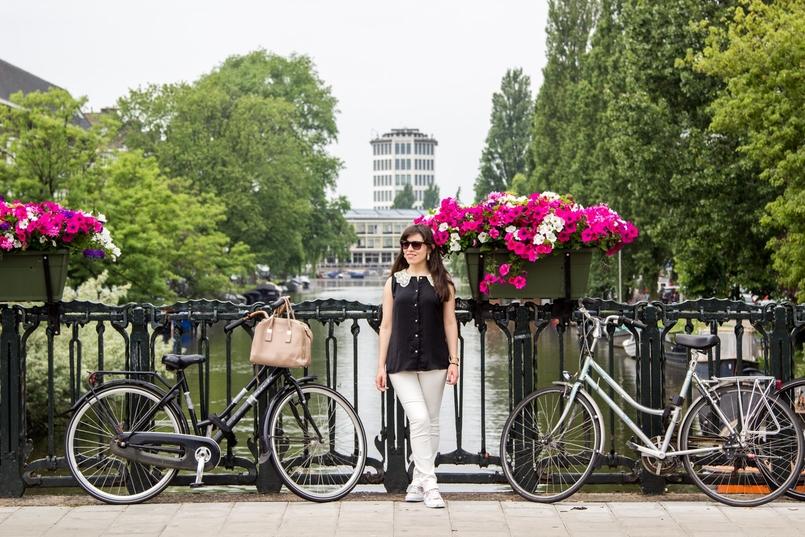 Le Fashionaire Amsterdão: Dicas e sítios giros blogueira catarine martins amesterdao roteiro flores bicicleta 9859 PT 805x537