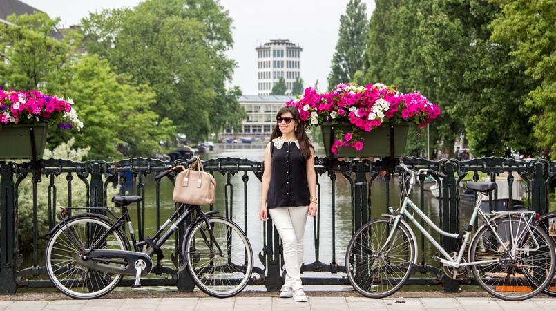 Le Fashionaire Amsterdão: Dicas e sítios giros blogueira catarine martins amesterdao roteiro flores bicicleta 9859F PT 805x450