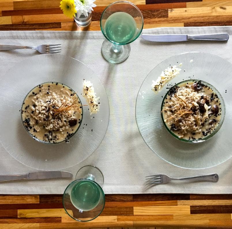 Le Fashionaire Em Carne Viva blogueira catarine martins restaurante carne viva porto risoto cogumelos comida 8323 PT 805x795