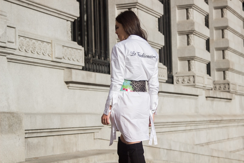 Le Fashionaire Le Fashionaire camisa branca mango lacos le fashionaire costumizacao cinto verde leopardo preto roberto cavalli pvc botas pretas acima joelho stradivarius 0214 PT 805x537