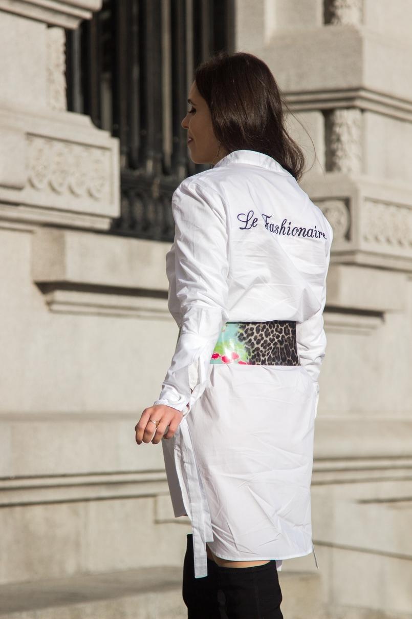Le Fashionaire Le Fashionaire camisa branca mango lacos le fashionaire costumizacao cinto verde leopardo preto roberto cavalli pvc botas pretas acima joelho stradivarius 0216 PT 805x1208