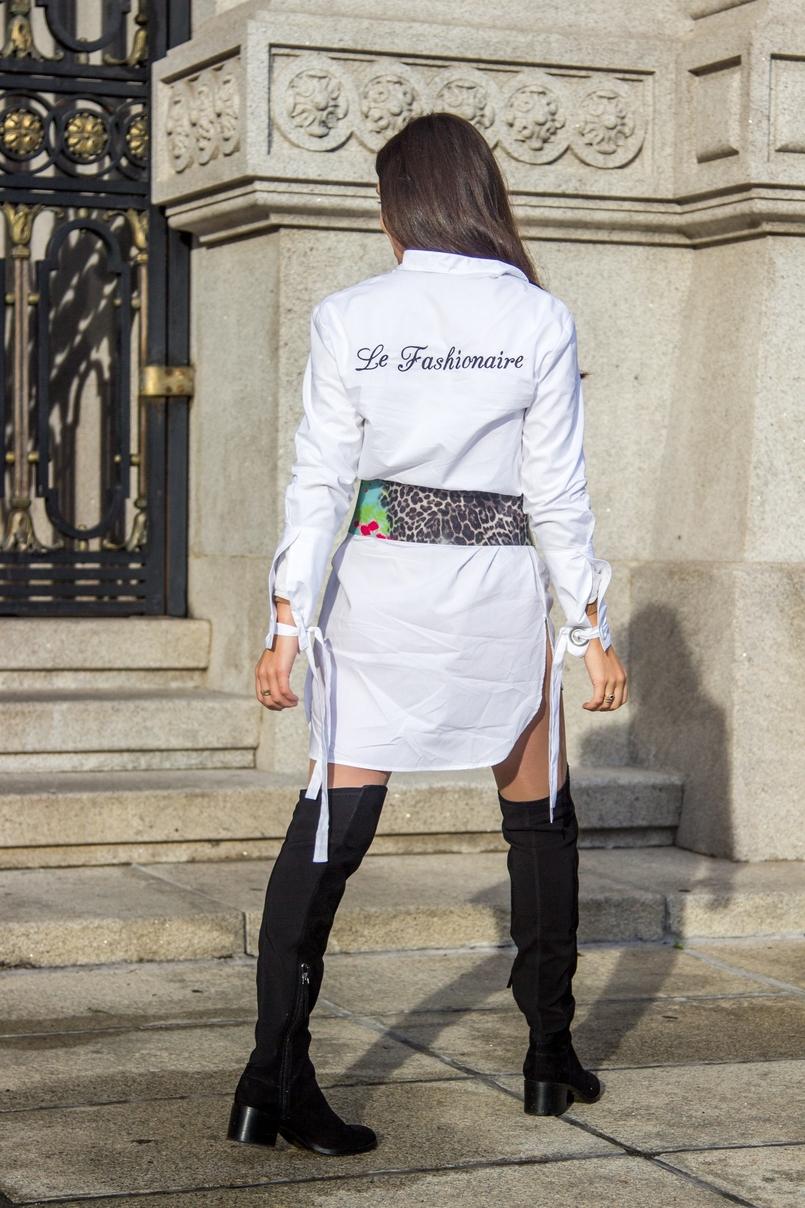 Le Fashionaire Le Fashionaire camisa branca mango lacos le fashionaire costumizacao cinto verde leopardo preto roberto cavalli pvc botas pretas acima joelho stradivarius 0270 PT 805x1208