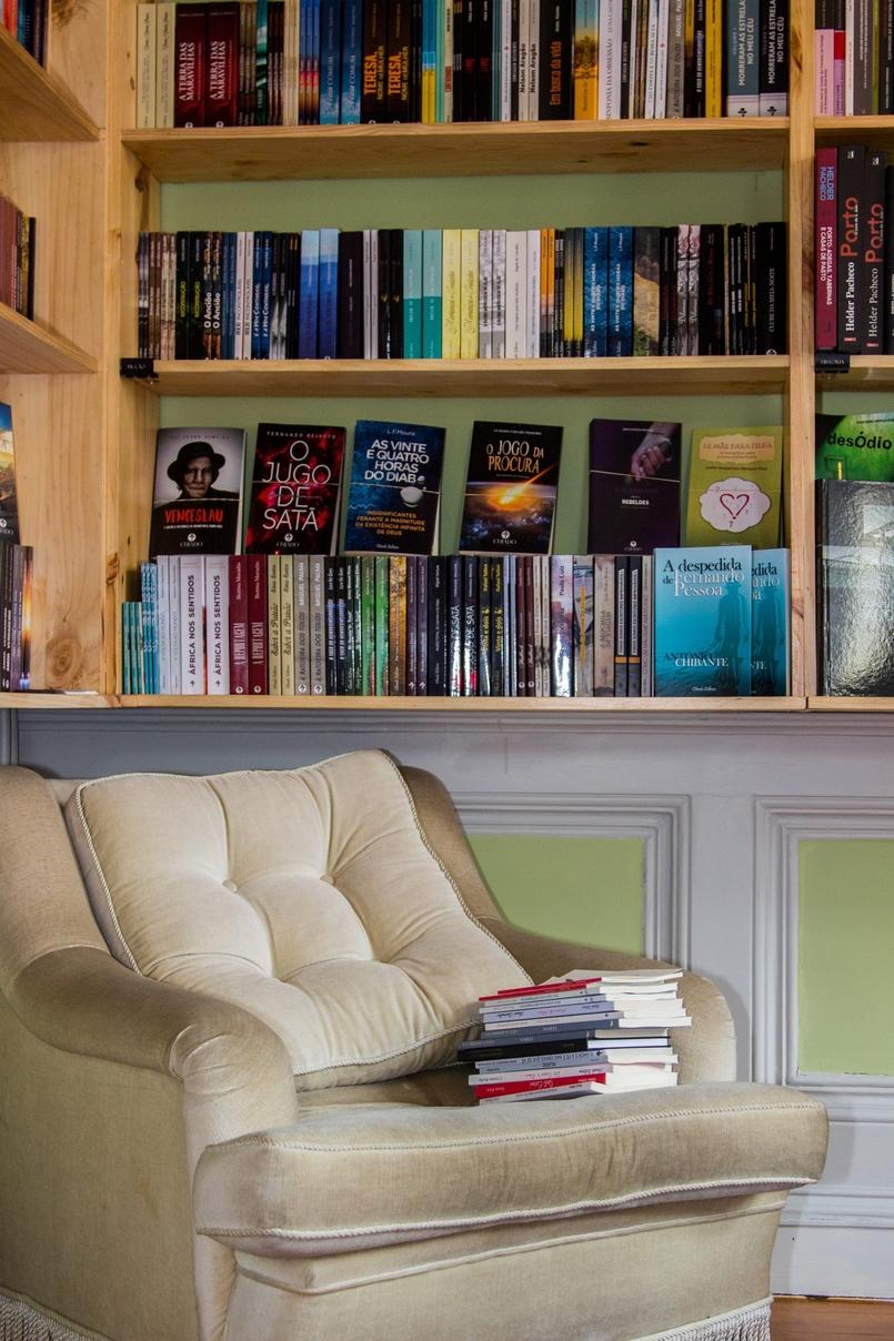 Le Fashionaire Chiado Café Literário livros sala bonita chiado cafe literario 9908 PT 805x1208