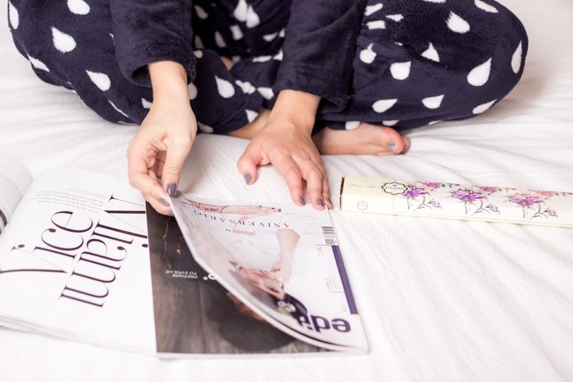 Le Fashionaire Nas nuvens pijama nuvem azul escuro chuva primark revista edit revista edit blogueira catarine martins 7738 PT 805x537