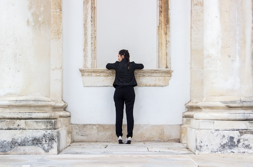 Le Fashionaire Freedom casaco tweed preto preateado zara calcas paper bag corte pretas lefties 0887 PT 805x532