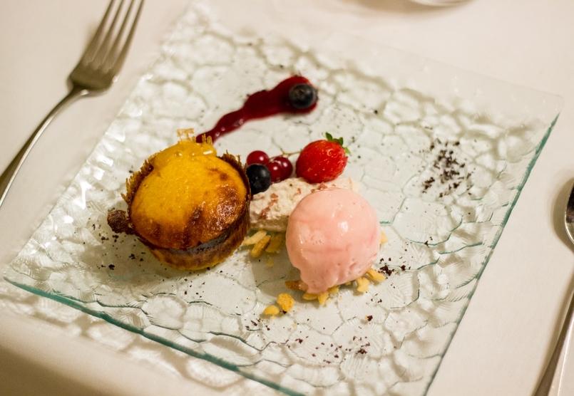 Le Fashionaire Palácio da Lousã Boutique Hotel desert pumpkin icecream lousa palace boutique hotel 1613 EN 805x556