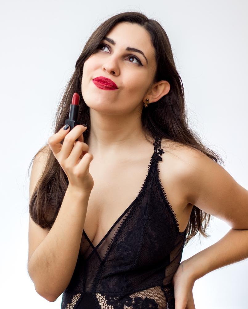 Le Fashionaire 7 lipsticks for Fall nars olivia dark red body oysho lace black fall 9171 EN 805x1003