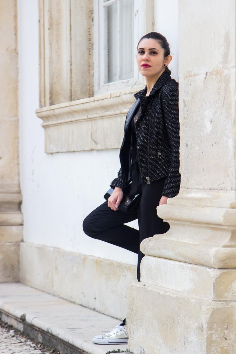 Le Fashionaire Freedom paper bag black lefties trousers black narciso rodriguez clutch 0832 EN 1 805x1208