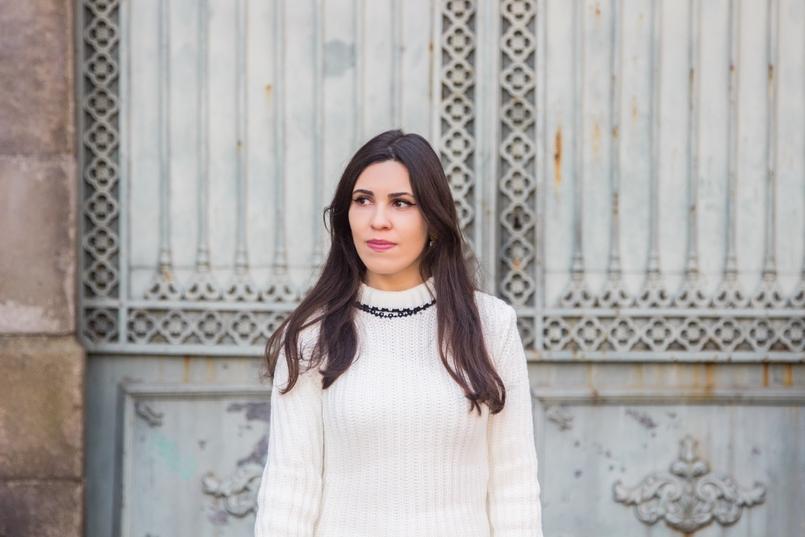 Le Fashionaire Amor Próprio blogueira catarine martins moda inspiracao camisola preto branco la mangas balao laco shein 3455 PT 805x537