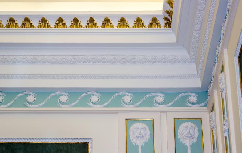 Le Fashionaire Soares dos Reis Museum ceiling soares reis museum mint beautiful room 8901 EN 805x509