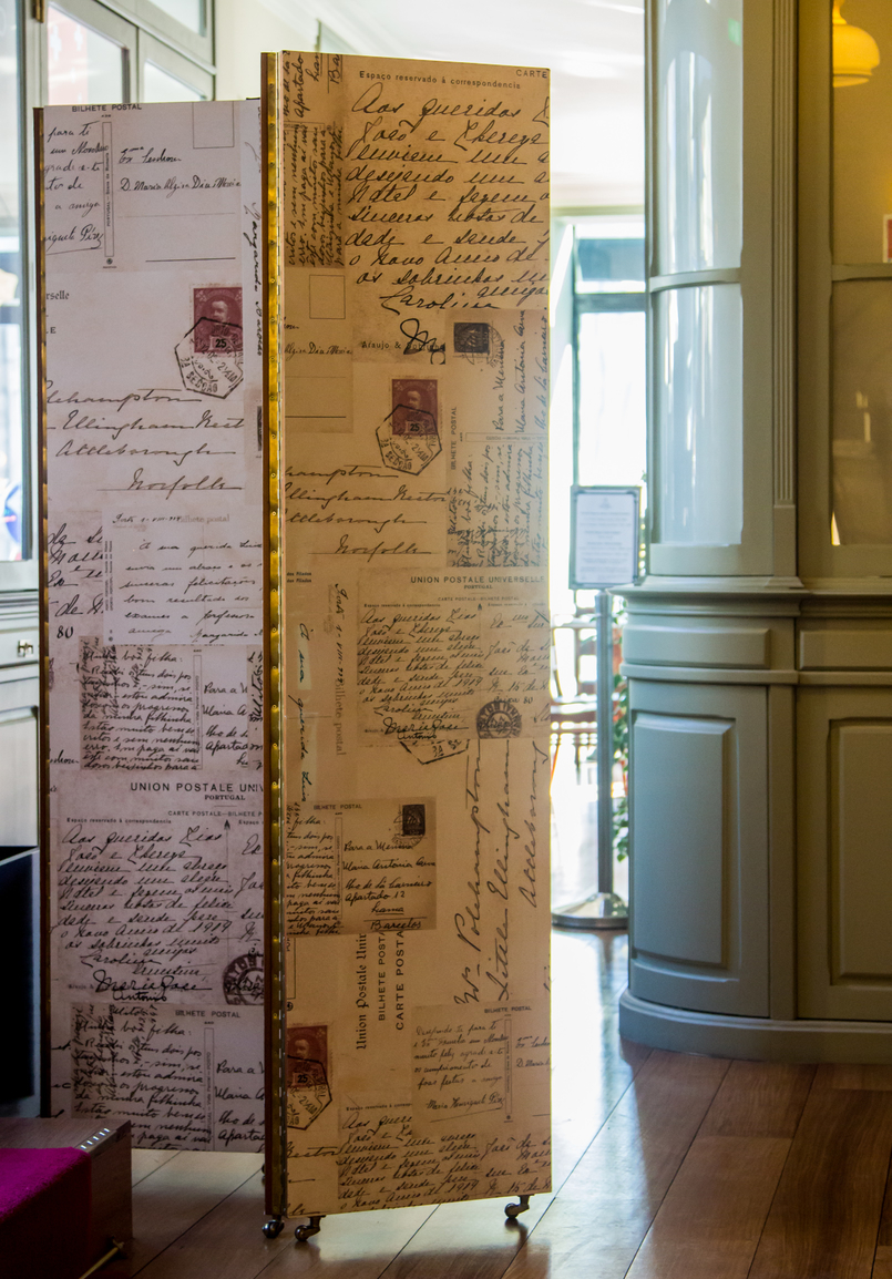 Le Fashionaire Porto A.S. 1829 Hotel folding screen stationary store araujo sobrinho hotel as 1829 oporto 5349 EN 805x1154