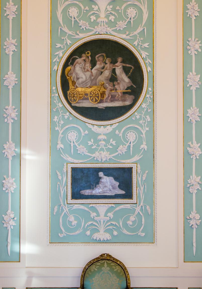 Le Fashionaire Soares dos Reis Museum opulent wall painting soares reis museum mint beautiful room 8898 EN 805x1151