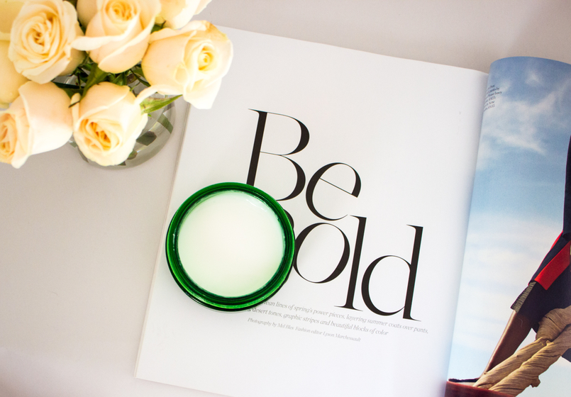 Le Fashionaire My secret for a glowing skin roses magazine blogger catarine martins fashion inspiration bodyshop drops youth night mask 4888 EN 805x560