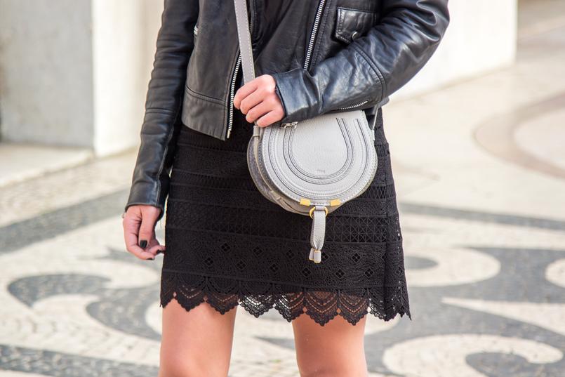 Le Fashionaire Todos devemos ser feministas? moda inspiracao vestido renda preto gola branco zara mala chloe cinzenta pele mini marcie casaco pele preto cabedal biker mango 6686 PT 805x537