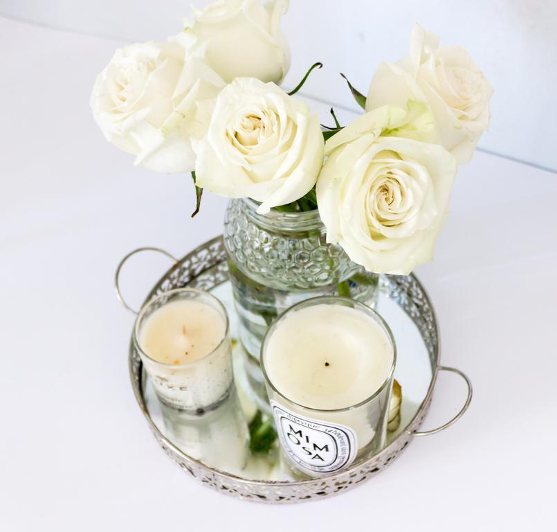Le Fashionaire À luz das velas branca mimosa diptyque pequena nuxe bandeja prateada casa vela 5425 PT 805x768