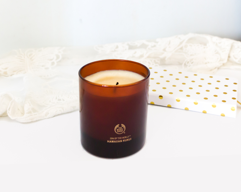 Le Fashionaire Candle light brown body shop candle 5430 EN 805x642
