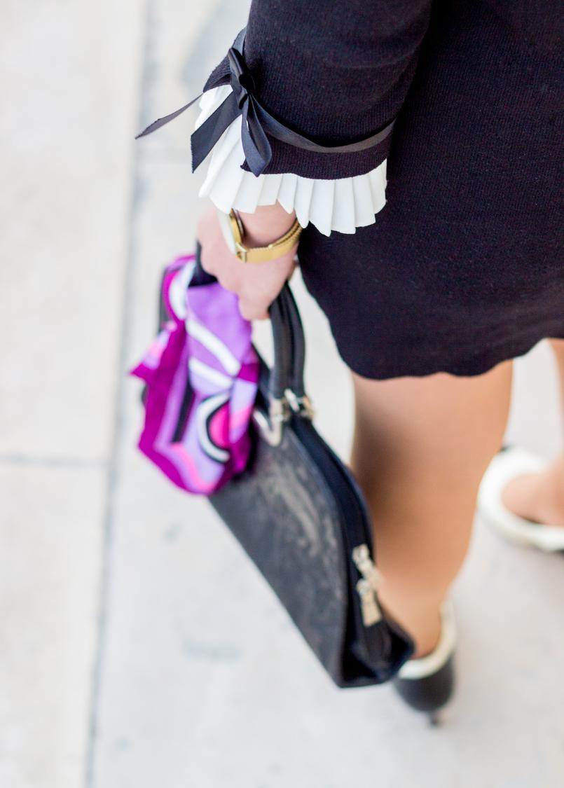 Le Fashionaire Os blogues estão esquecidos? vestido preto mangas brancas laco minusey mala preta estampado egipcios vintage lenco rosa arabescos estampado emilio pucci 2212 PT 805x1125