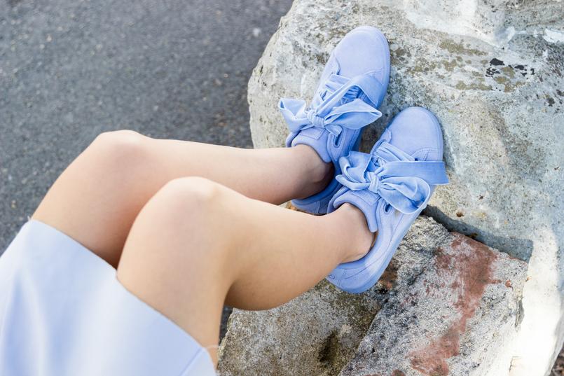 Le Fashionaire Are those who love fashion futile? fashion inspiration lavander lefties skirt lavender puma suede heart velvet sneakers 9006 EN 805x537