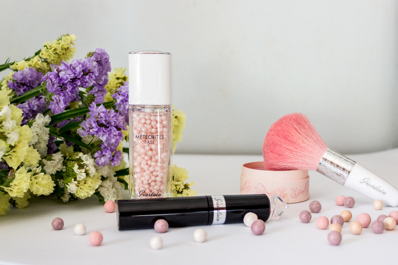 Le Fashionaire My top 5 Guerlain products guerlain makeup products meteorites primer pink little pearls mascara la petite robe noir black blush meteorites pink angels limited edition 5383 EN 805x537