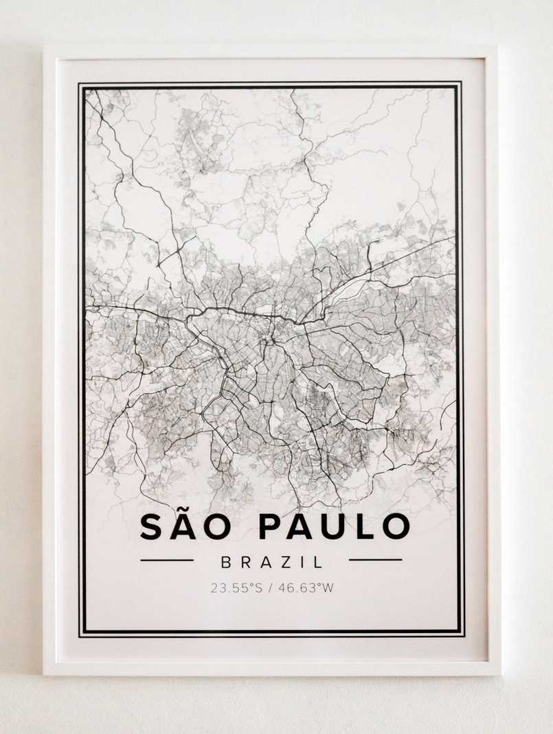Le Fashionaire Mapiful: the maps everybody's talking about mapiful map white black sao paulo 5283 EN 805x1068