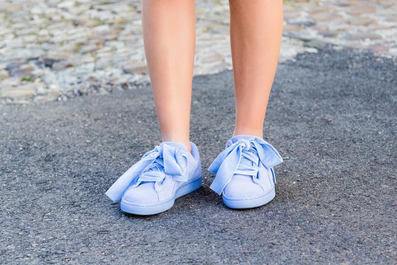 Le Fashionaire Será futilidade gostar de moda? moda inspiracao sapatilhas puma suede heart lavanda veludo 8962 PT 805x537