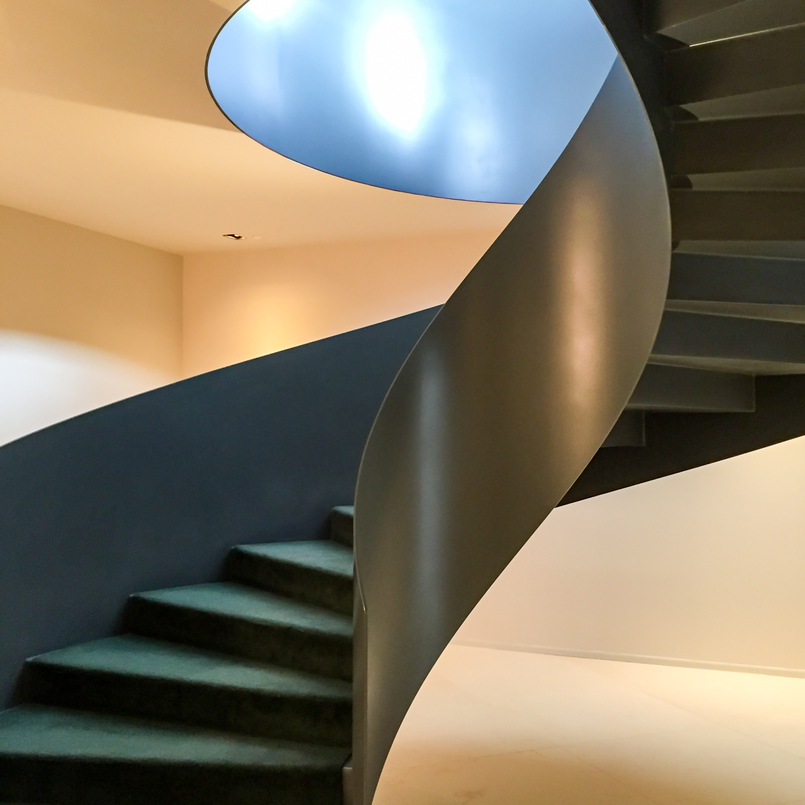 Le Fashionaire The charming Vista Alegre Hotel snail metalic spiral stairs hotel montebelo vista alegre 4653 EN 805x805