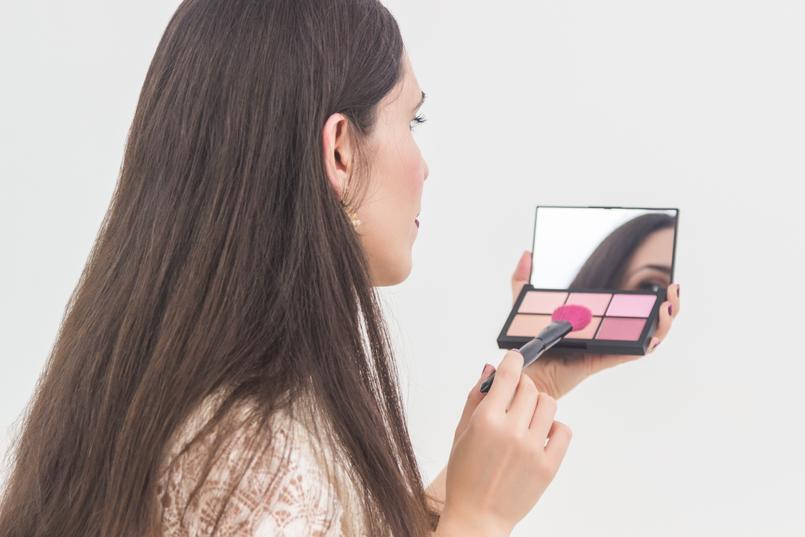 Le Fashionaire A Nars está em Portugal (participa e ganha um batom!) blogueira catarine martins paleta blushes rosa narcissist 3936 PT 805x537