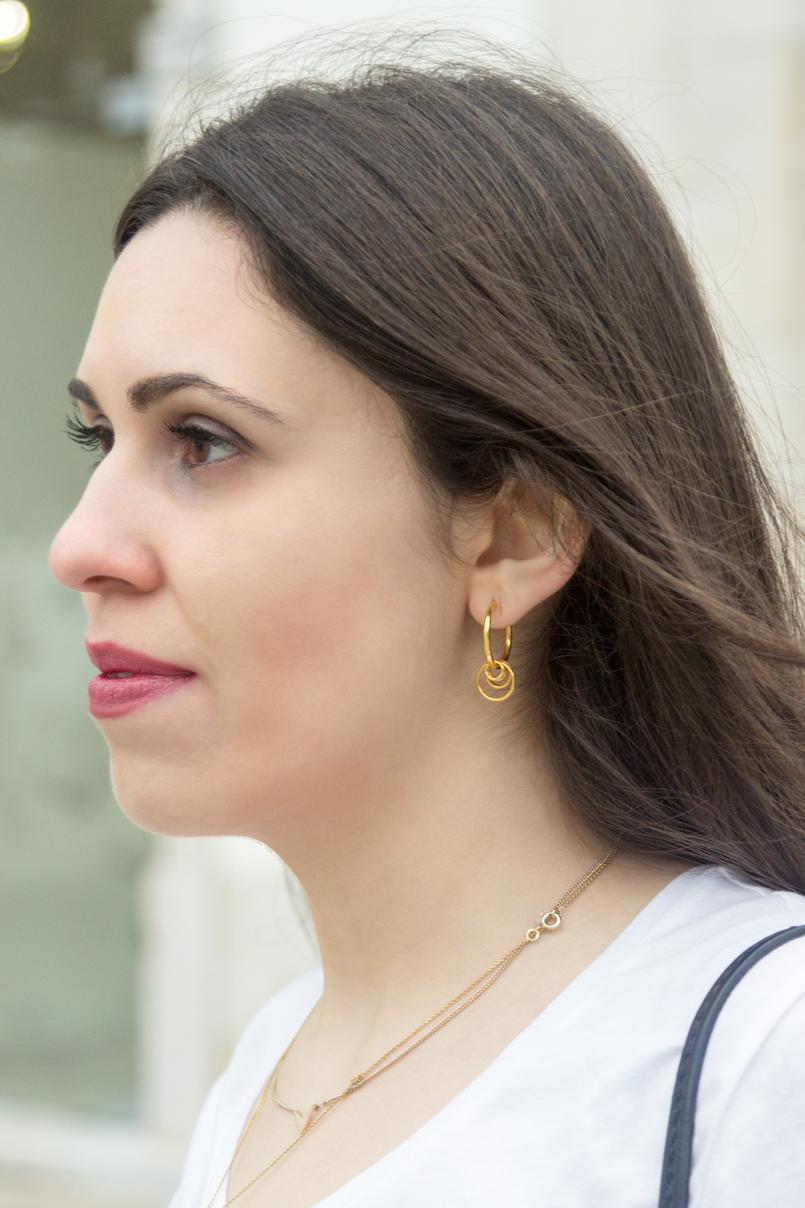 Le Fashionaire Onde comprar roupa vintage? blogueira catarine martins moda inspiracao brincos argolas douradas cinco 4724 PT 805x1208