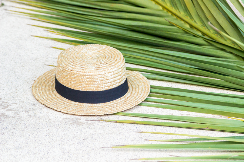 Le Fashionaire Have you ever been to Bali? green palm straw summer hat 4299 EN 805x537