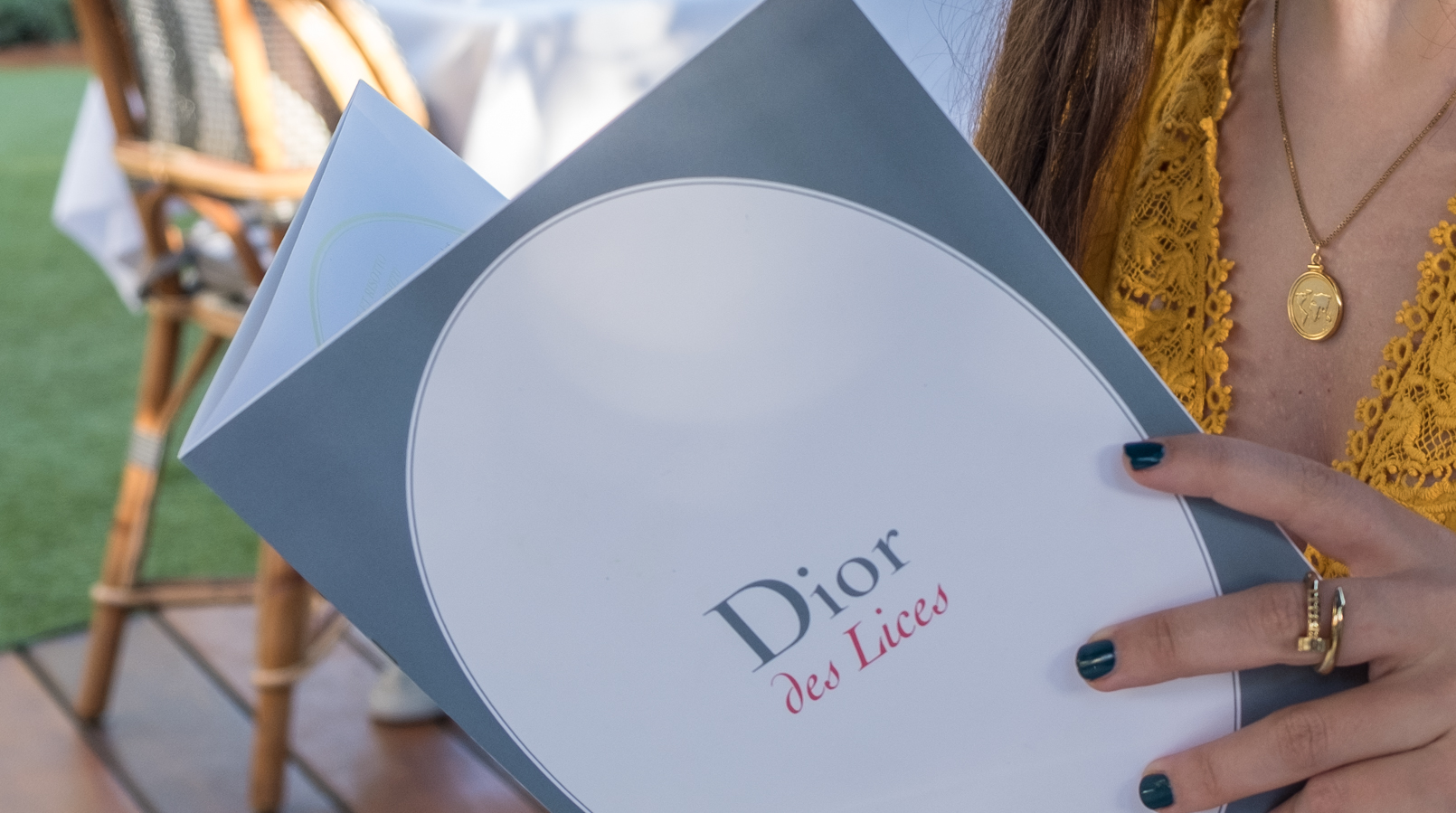 Le Fashionaire All you need to know about dining in Dior Des Lices in Saint Tropez menu restaurant dior des lices saint tropez 0681 EN1