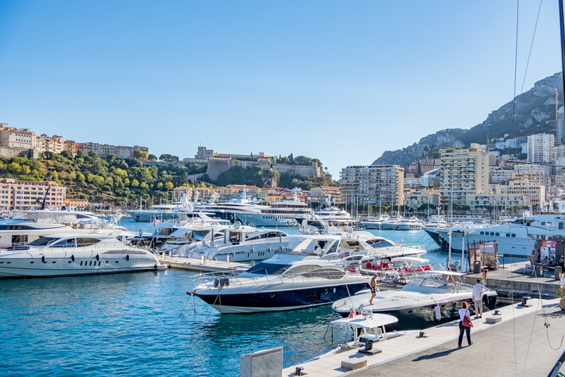 Le Fashionaire Why is Monaco such a magic place? monaco marina yacht boats 0475 EN 805x537