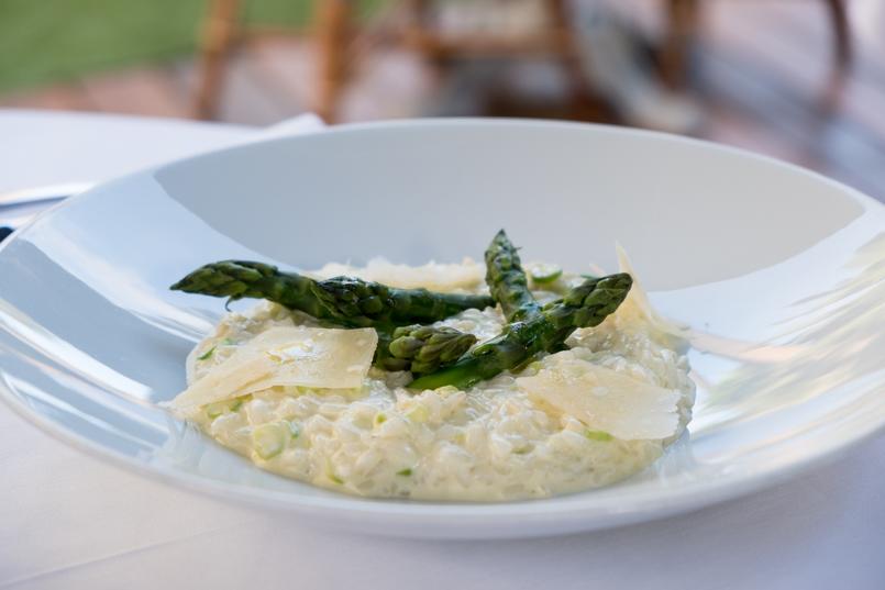 Le Fashionaire Como é jantar no Dior Des Lices em Saint Tropez? risotto aspargos 0736 PT1 805x537