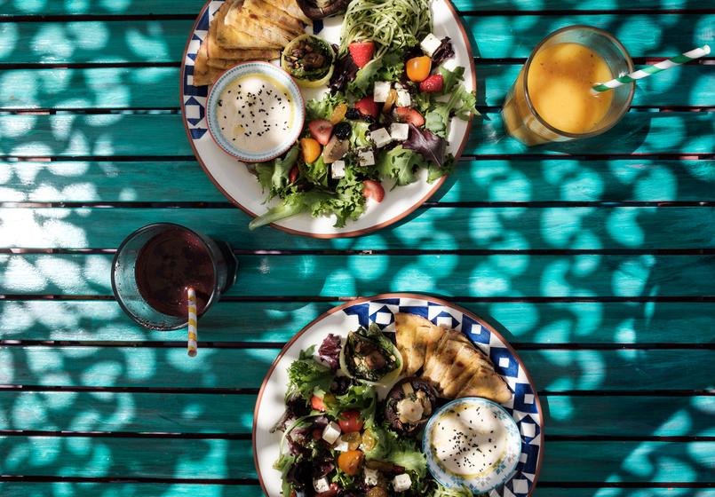 Le Fashionaire House of Wonders, um lugar singular vegetariano house of wonders cafe galeria prato comida saudavel colorido 2163 PT 805x560