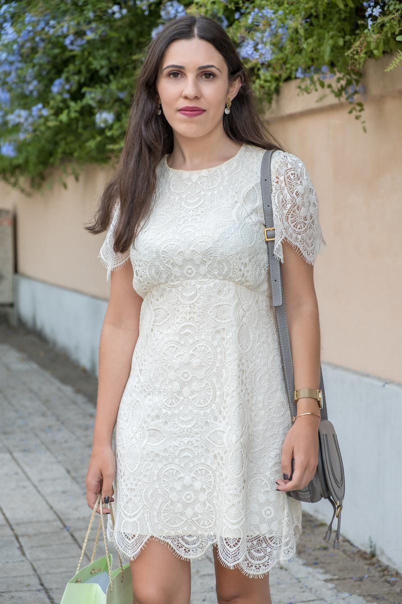 Le Fashionaire 1 ano de Le Fashionaire! vestido branco renda zara 2433 PT 805x1208