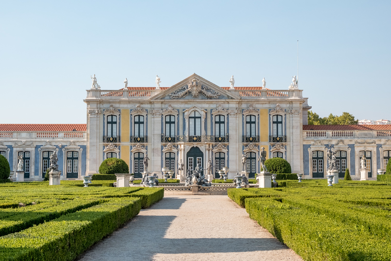 Le Fashionaire The portuguese Palace you need to know Queluz palace facade palace queluz 6068 EN 805x537