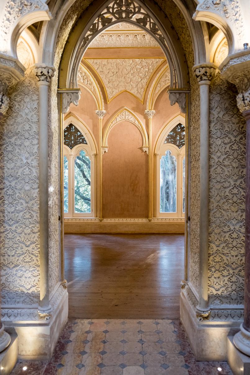 Le Fashionaire Monserrate: um palácio saído de um conto de fadas arcos islamicos palacio monserrate 6139 PT 805x1208